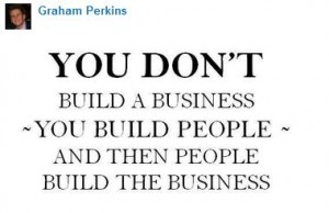 Build business and people