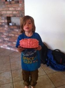 Som vanligt beställer William sin tårta när han fyller år. I år blev det ingen tårta alls.