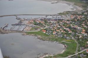 Flygbild tagen av Ulf-Björn Rönn. Undrar om Abraham också tittar ner så på oss.